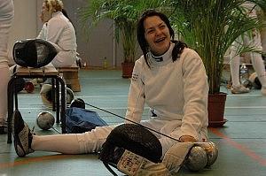 Olga Ehler bei der EM 2011