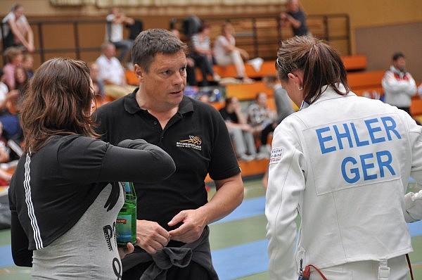 Jörg Ruppenthal coacht Alexandra Ehler