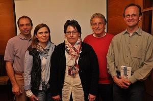 Vorstandschaft des Fördervereins Fechten - Jahreshauptversammlung 2012