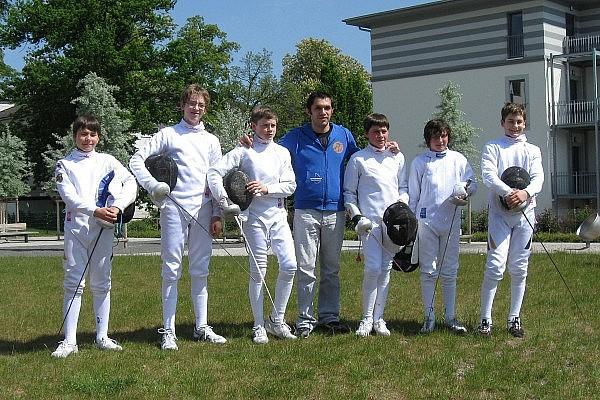 DM B-Jugend Herrendegen 2012 in Saalfeld
