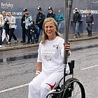Esther Weber bei den Paralympics in London 2012