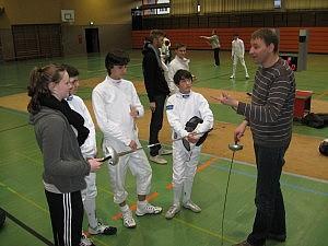 Obmannvorbereitungslehrgang beim SVW - in der Halle