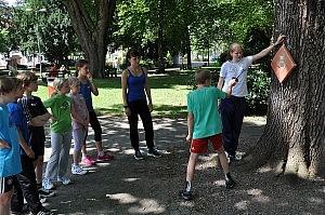 Ferienspielaktion 2013 – Stoßübungen