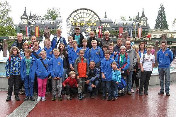 Besuch im Europapark 2013