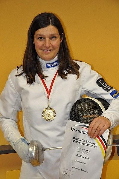 Judith Stihl – unsere Deutsche Meisterin 2013