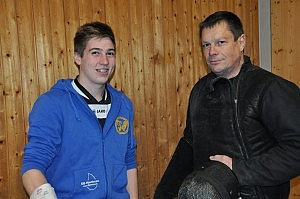 Alexander Riedel mit Jörg Ruppenthal