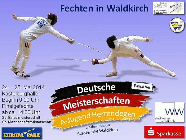 Deutsche Meisterschaften in Waldkirch 2014