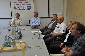 Pressekonferenz im Vorfeld der Deutschen A-Jugend-Meisterschaften