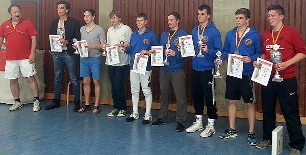 Südbadische Meisterschaften der Junioren am 6.7.2014