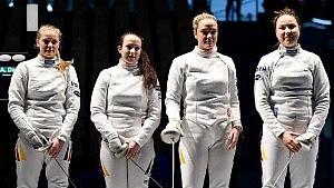 Mannschafts-Europameister der Juniorinnen im Damendegen 2015