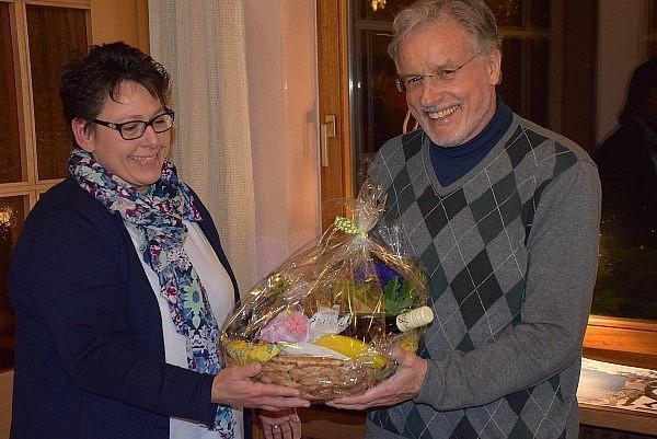 Dank an Bernd Herrlich von seiner Nachfolgerin Annette Zimmermann