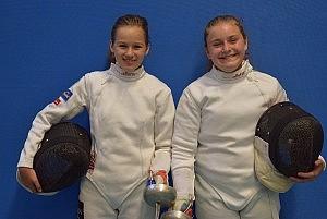 DM-Teilnahme Mara Disch (links) und Milena Fuchs