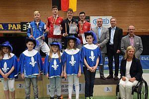 DM 2017 - Siegerehrung im Einzelwettkampf