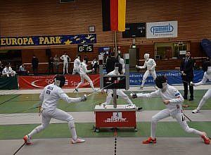 Deutsche Meisterschaft Fechten In Waldkirch